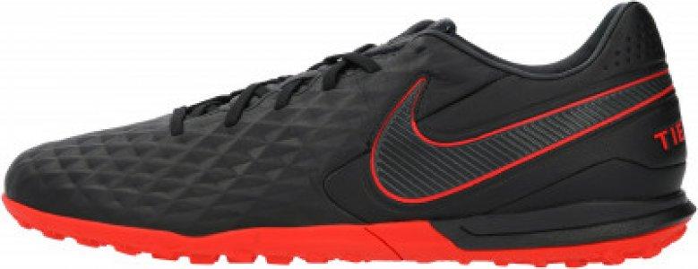Бутсы мужские Legend 8 Pro TF, размер 43 Nike. Цвет: черный