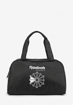 Сумка спортивная Reebok Classics CL Core Duffle. Цвет: черный