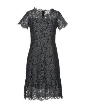 Платье до колена ANNA RACHELE. Цвет: свинцово-серый