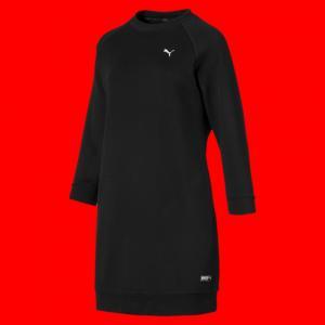 Платье Athletics Sweat Dress PUMA. Цвет: черный