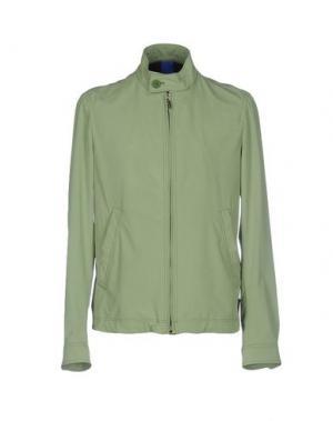 Куртка GEOSPIRIT. Цвет: зеленый