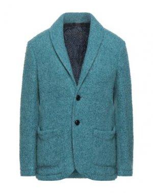Пиджак DOPPIAA. Цвет: бирюзовый