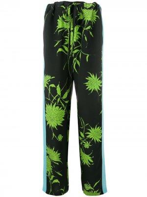Drawstring waist trousers Haider Ackermann. Цвет: черный
