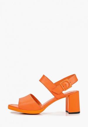 Босоножки Camper Kara Sandal. Цвет: оранжевый