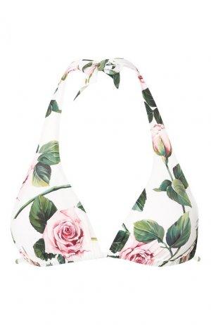 Треугольный бра Dolce & Gabbana. Цвет: белый