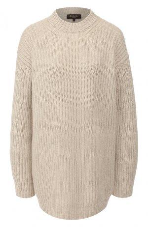 Кашемировый свитер Loro Piana. Цвет: бежевый