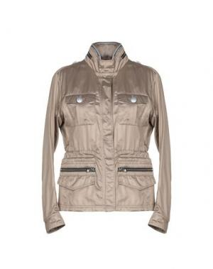 Легкое пальто HOGAN. Цвет: хаки