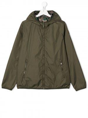 Двусторонняя куртка Ciesse Piumini Junior. Цвет: зеленый