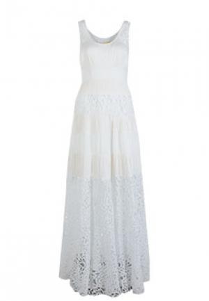 Платье C.MALANDRINO. Цвет: белый