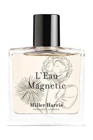 Парфюмерная вода Leau Magnetic, 50 ml Miller Harris. Цвет: без цвета
