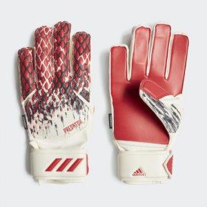 Вратарские перчатки Predator 20 Fingersave Manuel Neuer Performance adidas. Цвет: красный