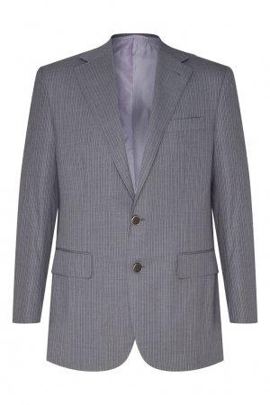 Шерстяной костюм серого цвета Stefano Ricci. Цвет: серый