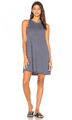 Платье-майка phoebe Nation LTD. Цвет: синий