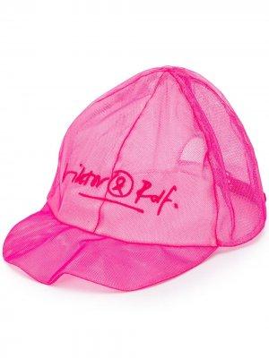 Бейсболка из тюля Viktor & Rolf. Цвет: розовый