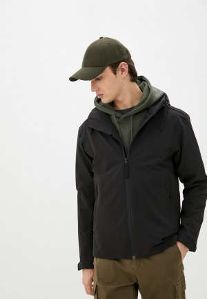 Куртка Helly Hansen MONO MATERIAL RAIN JACKET. Цвет: черный