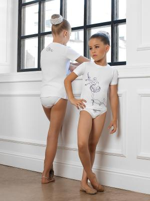 Комплект Arina Ballerina. Цвет: белый