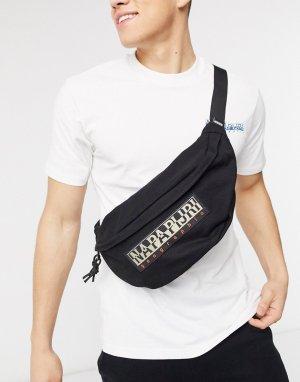 Черная сумка-кошелек на пояс Haset-Черный Napapijri