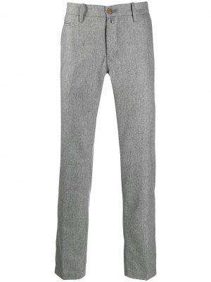 Классические брюки чинос Jacob Cohen. Цвет: серый