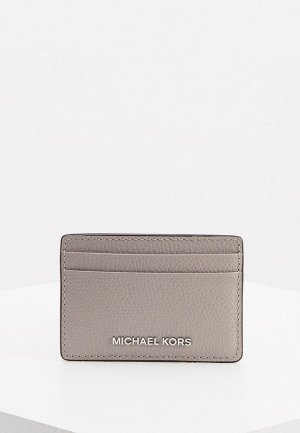 Кредитница Michael Kors JET SET. Цвет: серый