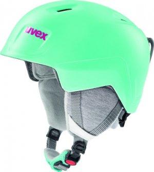 Шлем детский Manic Pro Uvex. Цвет: зеленый