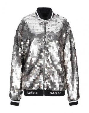 Куртка GAëLLE Paris. Цвет: серебристый