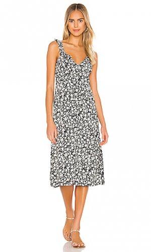 Платье миди cole love AUGUSTE. Цвет: черный