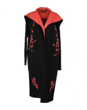 Пальто VDP CLUB. Цвет: черный