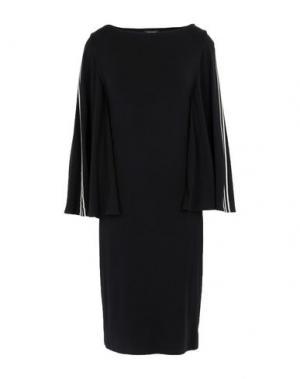 Платье до колена ISABEL DE PEDRO. Цвет: черный
