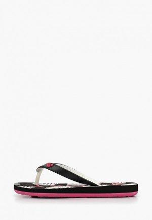 Сланцы Roxy RG TAHITI VI. Цвет: черный