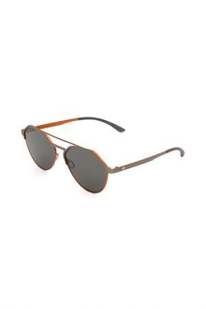 Очки солнцезащитные с линзами adidas. Цвет: 078 055 серый, оранжевый