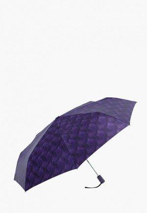 Зонт складной VOGUE. Цвет: фиолетовый