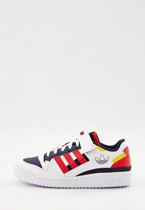 Кеды adidas Originals FORUM LOW J. Цвет: разноцветный