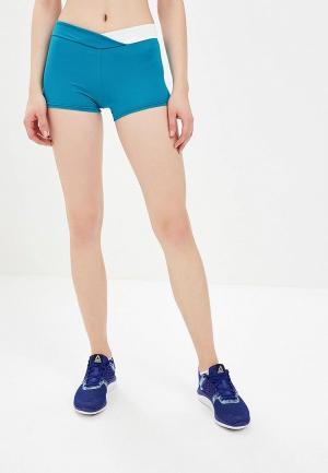 Шорты спортивные Emdi. Цвет: голубой