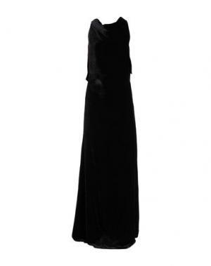 Длинное платье GARETH PUGH. Цвет: черный