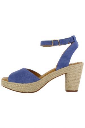 Босоножки Flip Flop. Цвет: синий