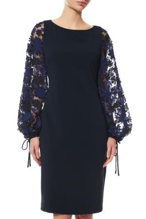 Платье Badgley Mischka. Цвет: мультицвет