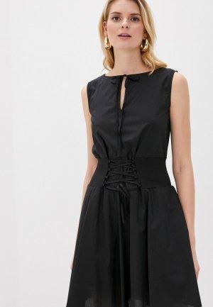 Платье Giorgio Di Mare. Цвет: черный