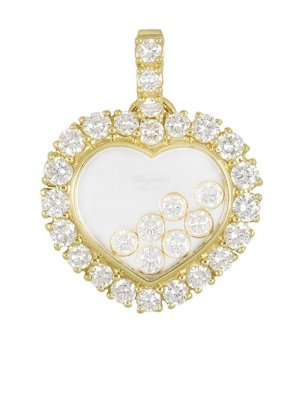 Подвеска из желтого золота в форме сердца Chopard Pre-Owned. Цвет: золотистый