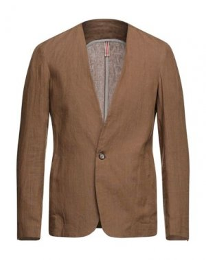 Пиджак OUTFIT. Цвет: коричневый