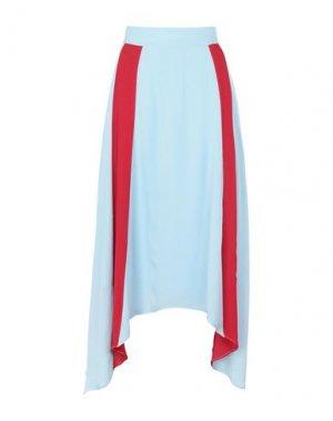 Длинная юбка 2ND DAY. Цвет: небесно-голубой