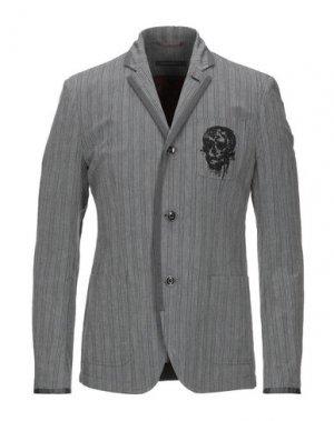 Пиджак JOHN VARVATOS ★ U.S.A.. Цвет: серый