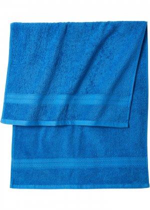 Комплект полотенец (8 шт.) bonprix. Цвет: синий