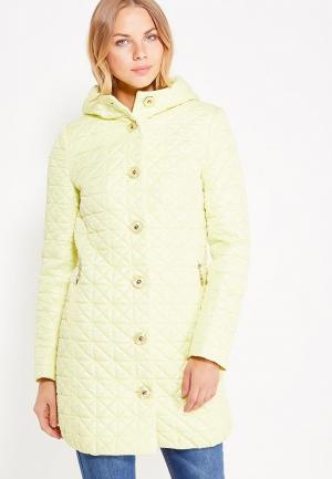 Куртка утепленная Brillare. Цвет: желтый