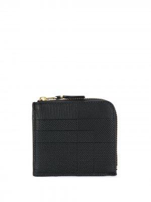 Кошелек с узором Comme Des Garçons Wallet. Цвет: черный