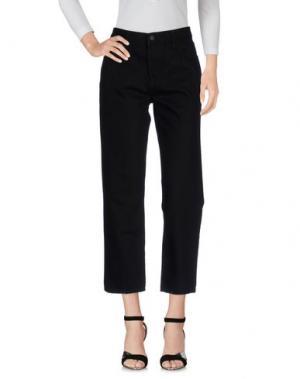 Джинсовые брюки-капри SIMONE ROCHA x J BRAND. Цвет: черный