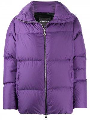 Куртка-пуховик Duvetica. Цвет: фиолетовый