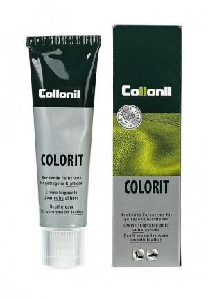 Крем для обуви Collonil Colorit, черный, 50 мл. Цвет: черный