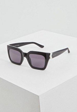 Очки солнцезащитные Jimmy Choo MAIKA/S 807. Цвет: черный