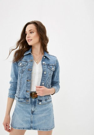 Куртка джинсовая Mango - VICKY. Цвет: голубой