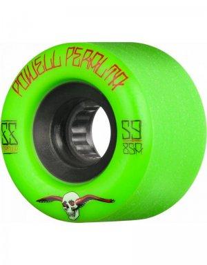 Колеса для скейтборда G-Slides Powell Peralta. Цвет: зеленый